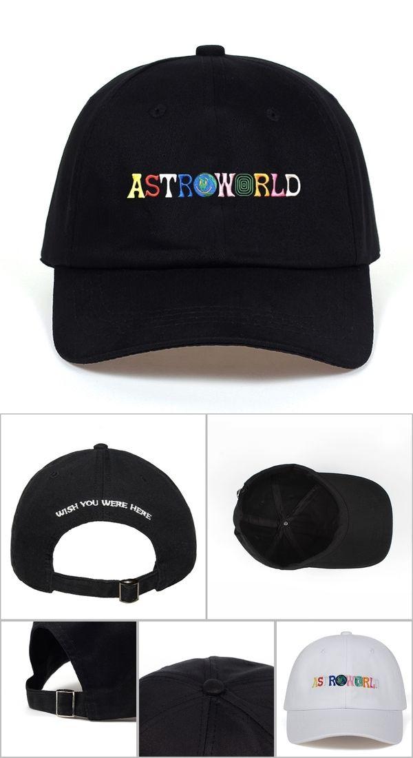 858864bb Travi$ Scott latest album ASTROWORLD Dad Hat 100% Cotton High quality  embroidery Astroworld Baseball Caps Unisex Travis Scott