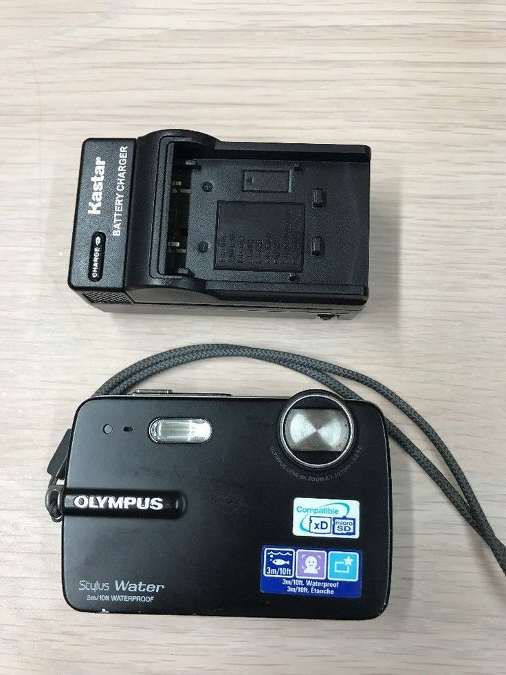"Olympus Stylus 550WP 10MP 3X 2.5"" LCD Digital Camera Waterproof A11 #Olympus"