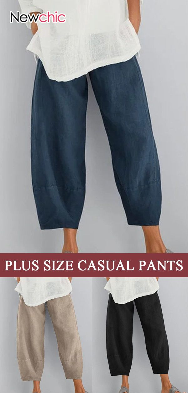 Women #Casual #PlusSize Pants, Best #Outfits for #Daily! Only US$23.99 Today!
