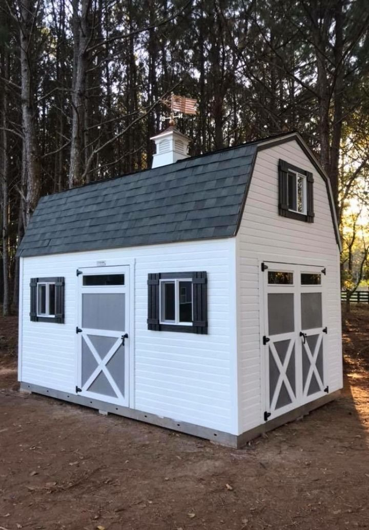 Get Organized Before Gardening Season Farmhouse Sheds Painted Shed