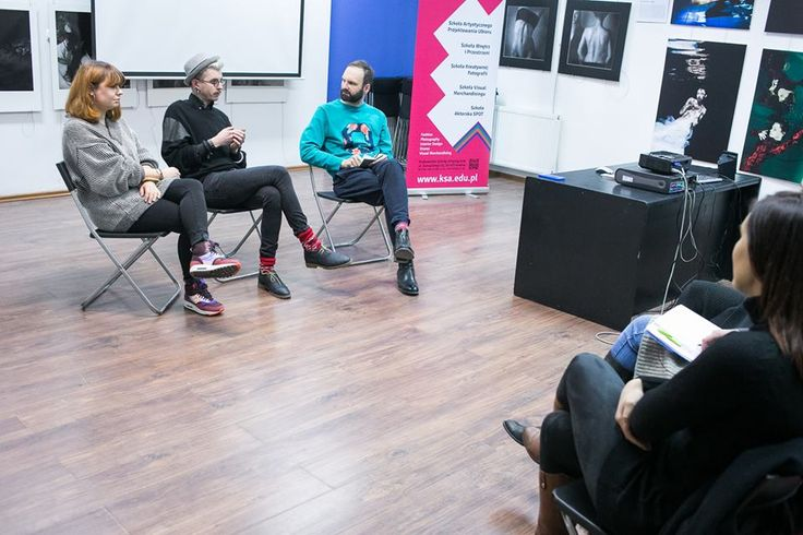 Photo from meeting with Ewa Kosz and Tobiasz Kujawa. #TobiaszKujawa #EwaKosz #Fashion #InPoland #20x20