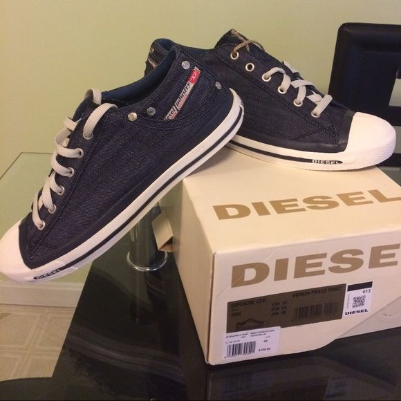 diesel shoes Brain new MEN sneakers. Just picked the wrong size Diesel Shoes Sneakers