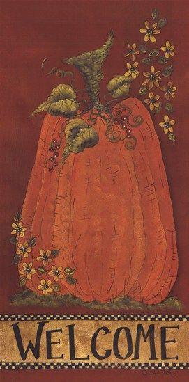 Pumpkin Welcome  Fine-Art Print