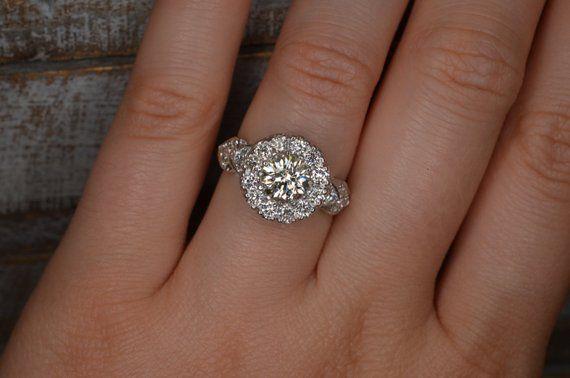 Heart Shaped Art Deco Inspired Diamond Ring 18k White Gold Heart Shaped Art Art Deco Diamond Shape Art
