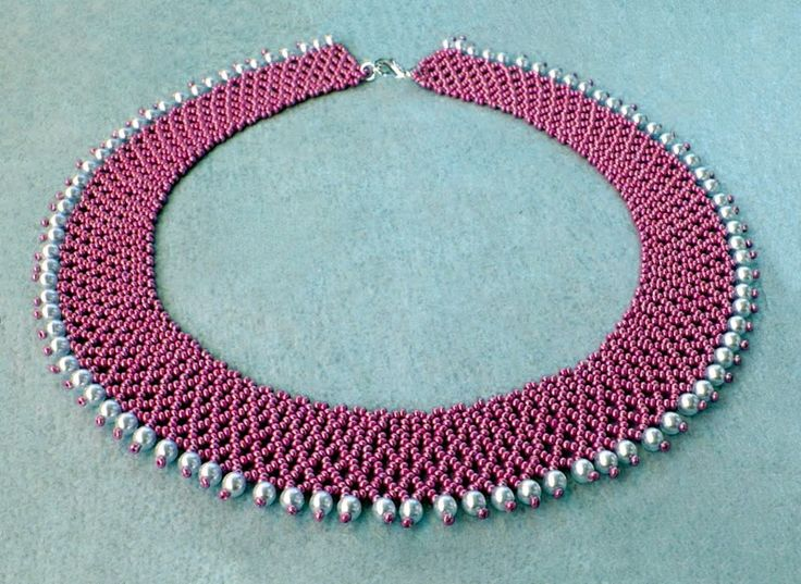 Free pattern for necklace Ello