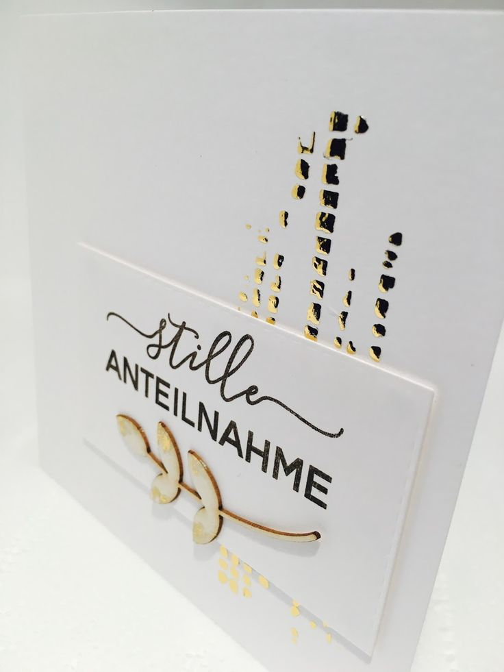 Love Cards & Papers by Alexa: Stille Anteilnahme