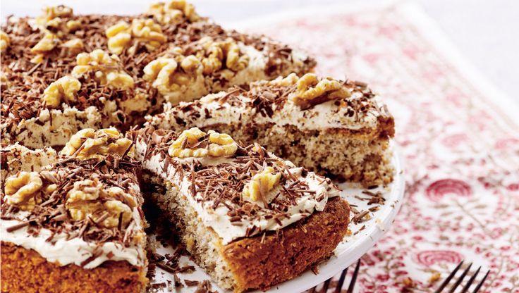 Den perfekte kage til eftermiddagskaffen, eller serveret som dessert efter en god middag.