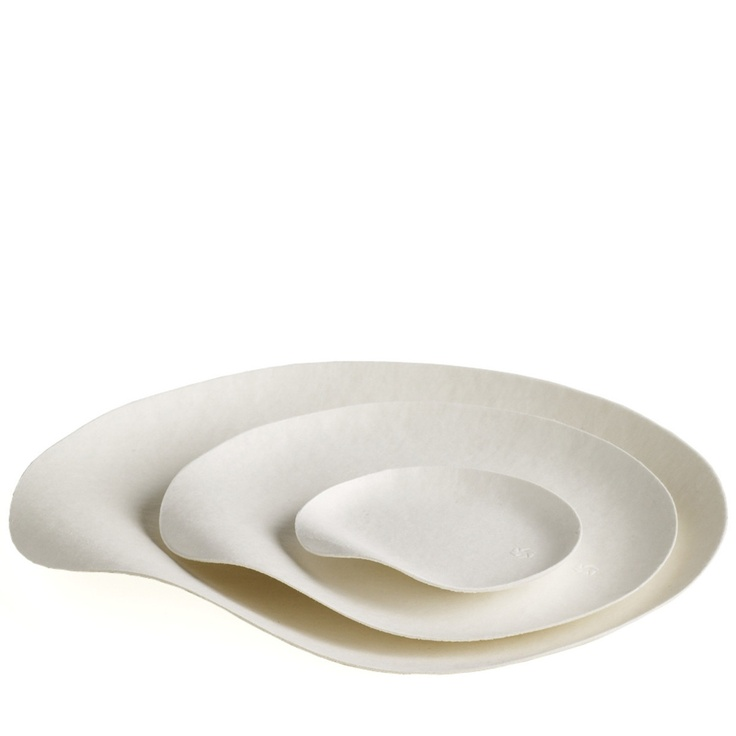 Maru Plates disposable contemporary tableware