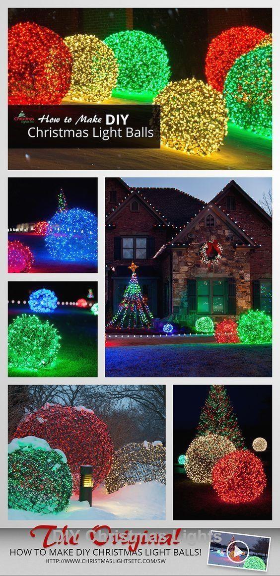 17 Creative and Stylish DIY for Christmas lights #Homedecor