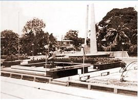 Old Santa Rosa, City Plaza (1970's)