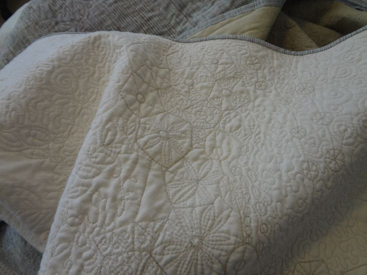 The latest Rock Pool Quilt has been delivered to Planet Furniture. This quilt and a number of others have been made conjunction with Planet Furniture.  www.planetfurniture.com.au The fabrics are hand made and dyed in pale greens, creams with highlights of brown and tan..