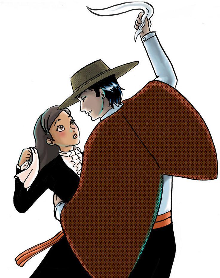 Cueca chilena - Estilo del animado: P Por sarasalazar
