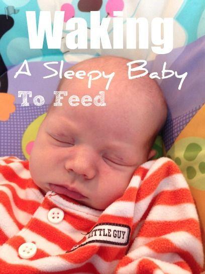How to wake a sleepy baby for feeds. #newborn #baby #breastfeeding