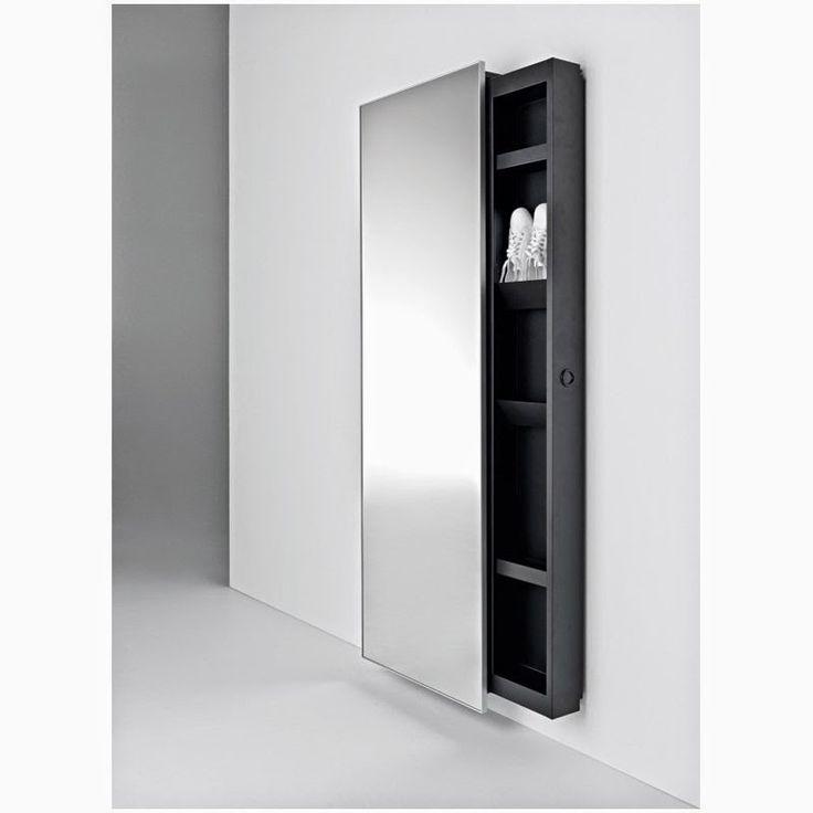 Oltre 25 fantastiche idee su specchio contenitore su - Appendiabiti da bagno ...
