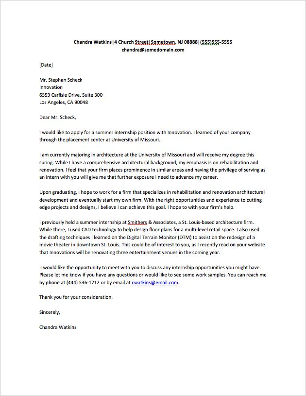 25+ unique Cover letter for internship ideas on Pinterest Job - examples of resumes for internships