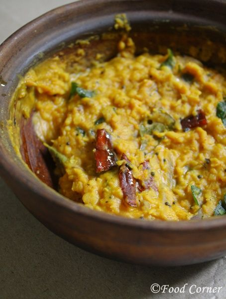 Sri Lankan Dhal Curry (Parippu curry ) recipe is one of the basic curries in Sri Lankan cooking that is served with rice, bread or roti.