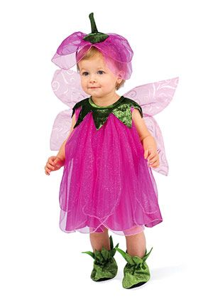 "Parents.com touts our Tulip Pixie costume for Halloween! ""Tulip? Fairy? It doesn't really matter exactly what this costume is because either way, we love it. Layer with tights and a bodysuit if you'll be outdoors."""