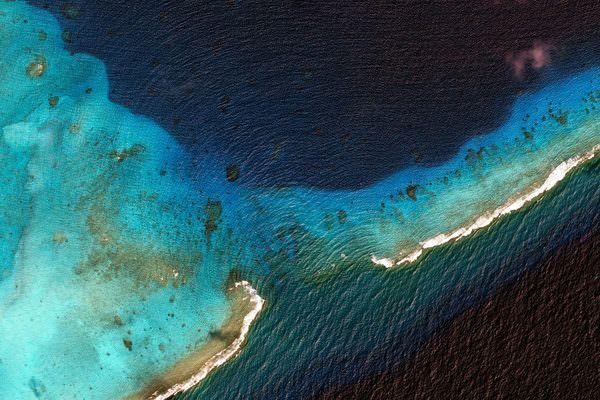 Marshall Islands by Google Earth #art #photo