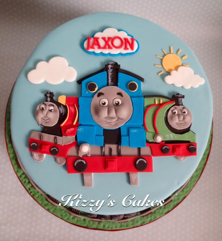 Thomas+and+Friends+-+Cake+by+Kizzy's+Cakes