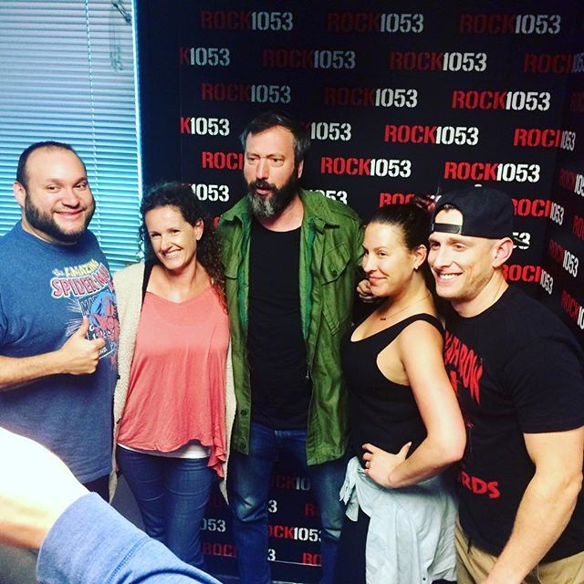 Tom Green with the gang @theshowrock1053 Shows tonight & tomorrow  7 & 9:45 #lajollalocals #sandiegoconnection #sdlocals - posted by La Jolla Comedy Store  https://www.instagram.com/comedystorelj. See more post on La Jolla at http://LaJollaLocals.com