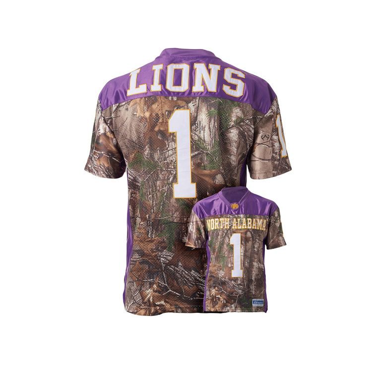 Men's North Alabama Lions Game Day Realtree Camo Jersey, Size: Medium, Brown