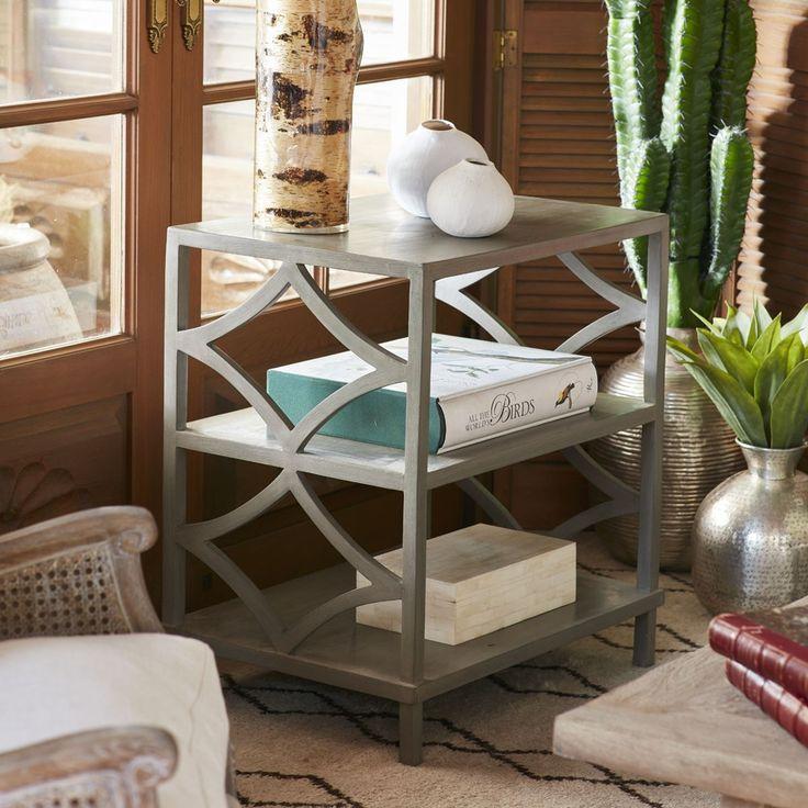 Alfaro three tier bookshelf