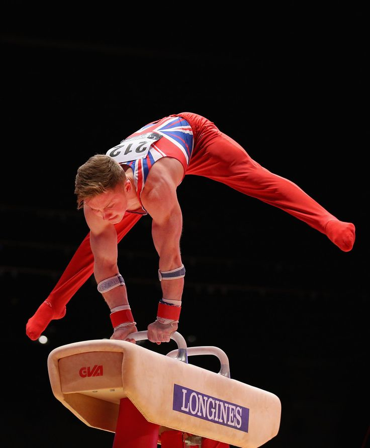 Nile Wilson of Great Britain competes in the Pommel during Day Three of the 2015 World Artistic Gymnastics Championships at The SSE Hydro on October 25, 2015 in Glasgow, Scotland.