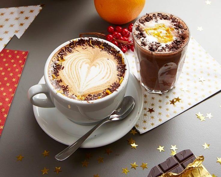 The #ASK orange hot chocolate