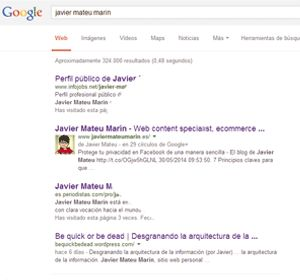 El derecho al olvido de Google - El blog de Javier Mateu