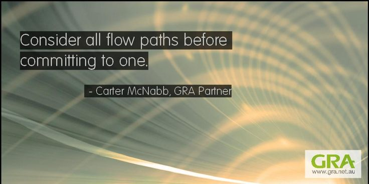 """""""Consider all flow paths before committing to one."""" #SupplyChain #planning http://www.gra.net.au/what-we-do/consulting/strategy/supply-chain-network-planning-and-optimisation…"""