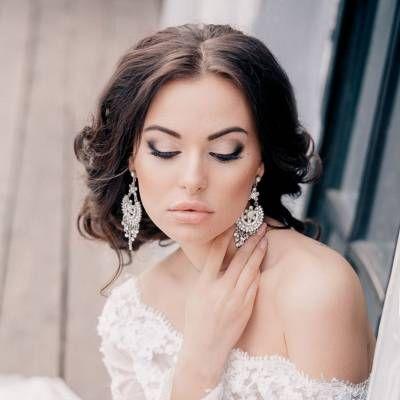Свадебный макияж для брюнеток: секреты создания идеального образа