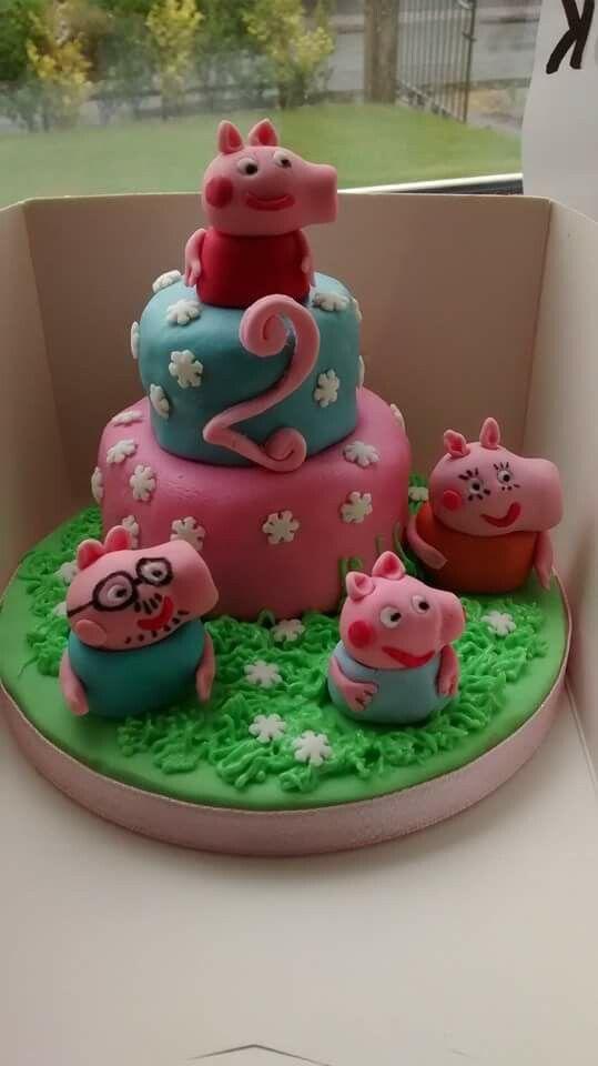Peppa Pig cake - croston cakes