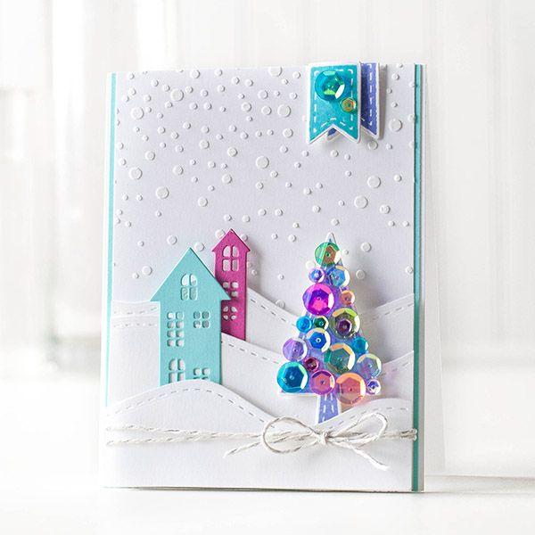 my world: Cold Hands Warm Heart Blog Hop!!! SSS stencil snow