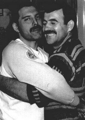 Freddie and Jim Hutton - Freddie Mercury Photo (32614092) - Fanpop