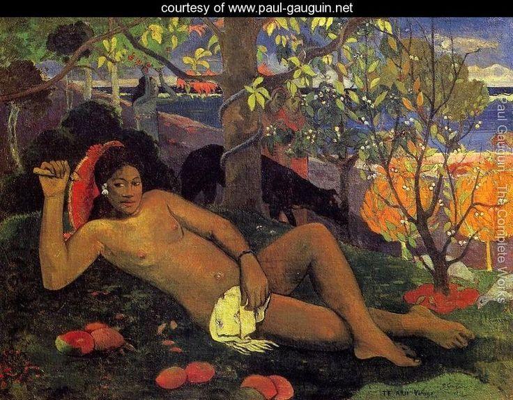 Te Arii Vahine Aka The Kings Wife - Paul Gauguin - www.paul-gauguin.net