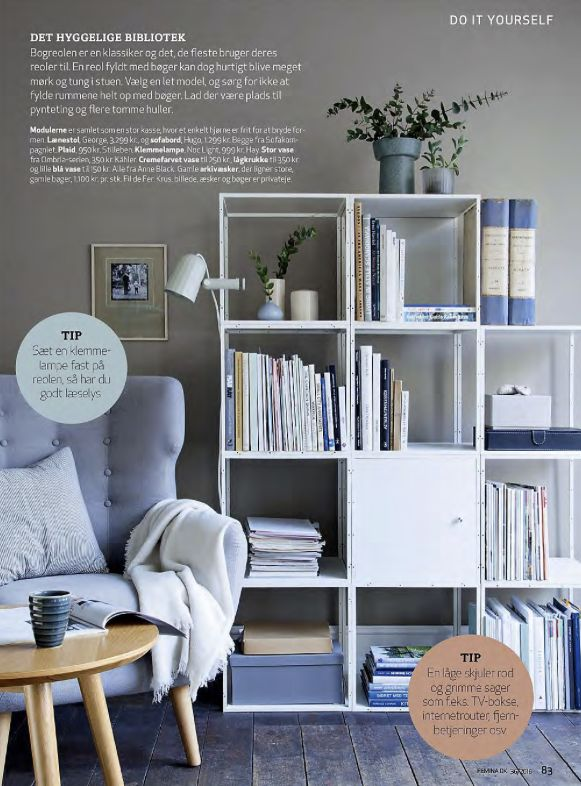 Books, magazines, decoration #GRID #danishdesign #GRIDstudio #GRIDsystem www.gridstudio.de
