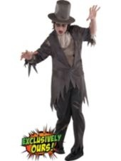 Adult Antique Zombie Groom Costume-New Costumes-Mens Costumes-Adult Costumes-Halloween City