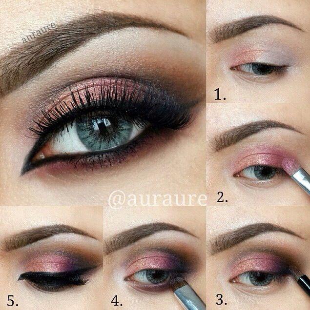 Pretty fall makeup