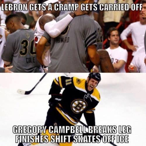 Hockey vs. Basketball