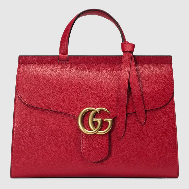 GG Marmont leather top handle bag by Gucci $2,500