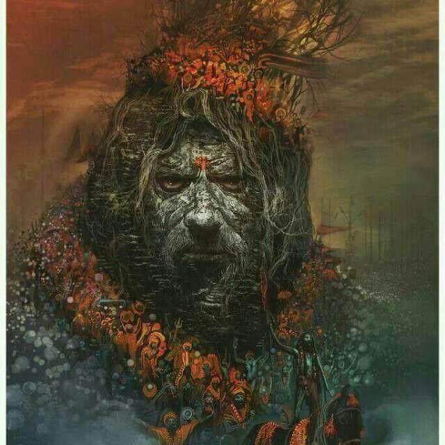 Shiv the great aghori