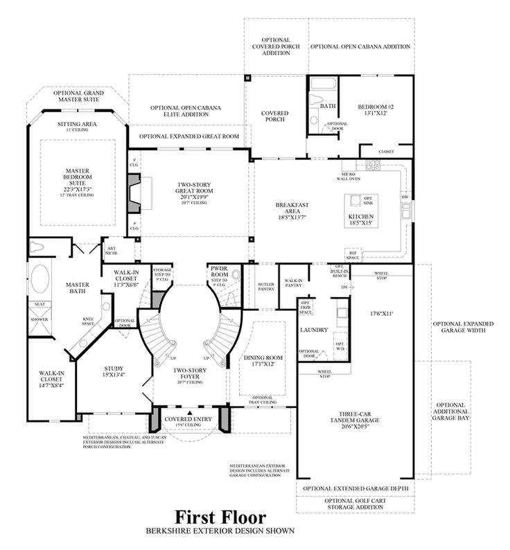 The Sandhaven Home Design: 10 Best Floor Plans Images On Pinterest