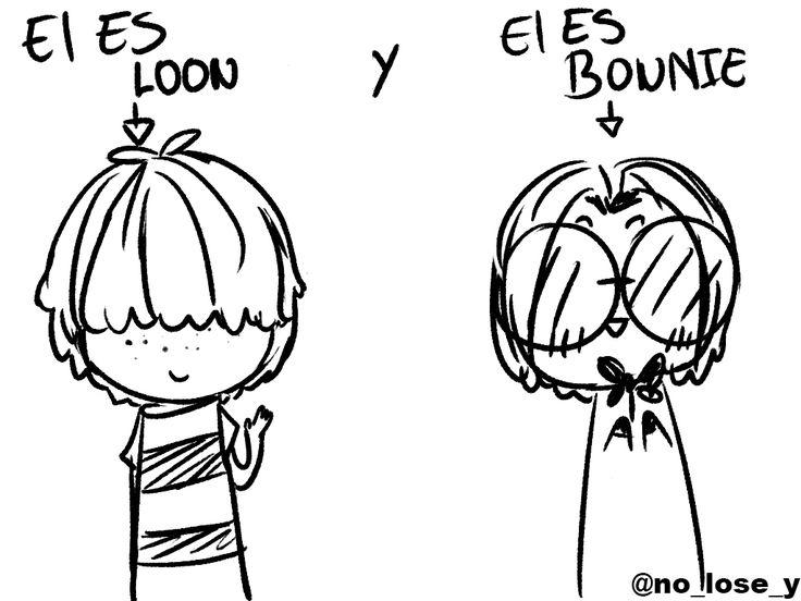 EL OSCURO SECRETO DE BONNIE Y LOON XD