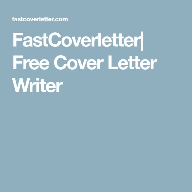 The 25+ best Free cover letter templates ideas on Pinterest - create a cover letter free