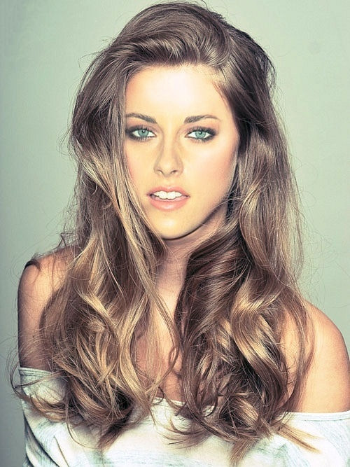 light brown wavy hair. Love this color @ Hair Color and Makeover Inspiration