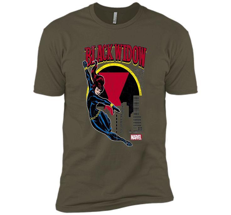 Black Widow Web Slinger Graphic T-Shirt
