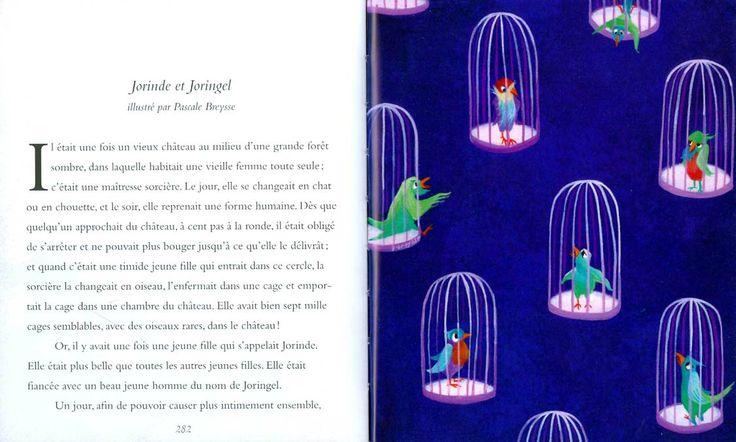 """Pascale Breysse illustration for """"Histoires du soir, mes contes préférés""""."""