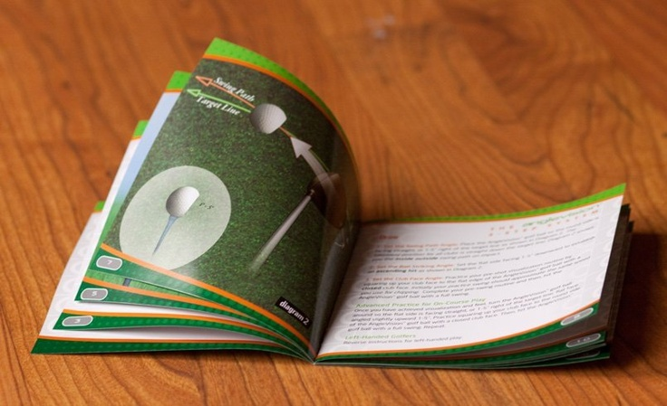 Full color brochure for Csquare Golf, a company located in Springfield, New Jersey. #NJ #golf