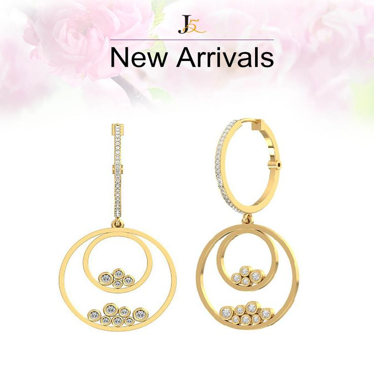 Meet our latest arrivals - Not sure about how it will look on you ?? Don't worry, Take an appointment and visit us - Contact Us : +919978989842 - 10% off on all diamond jewellery #diamondjewellery #newcollection #lowestprice #lightweight #freeshipping #30daysreturn #lifetimeguarantee #certifiedjewellery #cashbackguarantee #diamondearrings #sale #onlinediamondjewellery https://jewels5.com