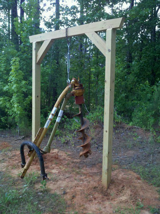10 Best Images About Post Hole Digger Stand On Pinterest